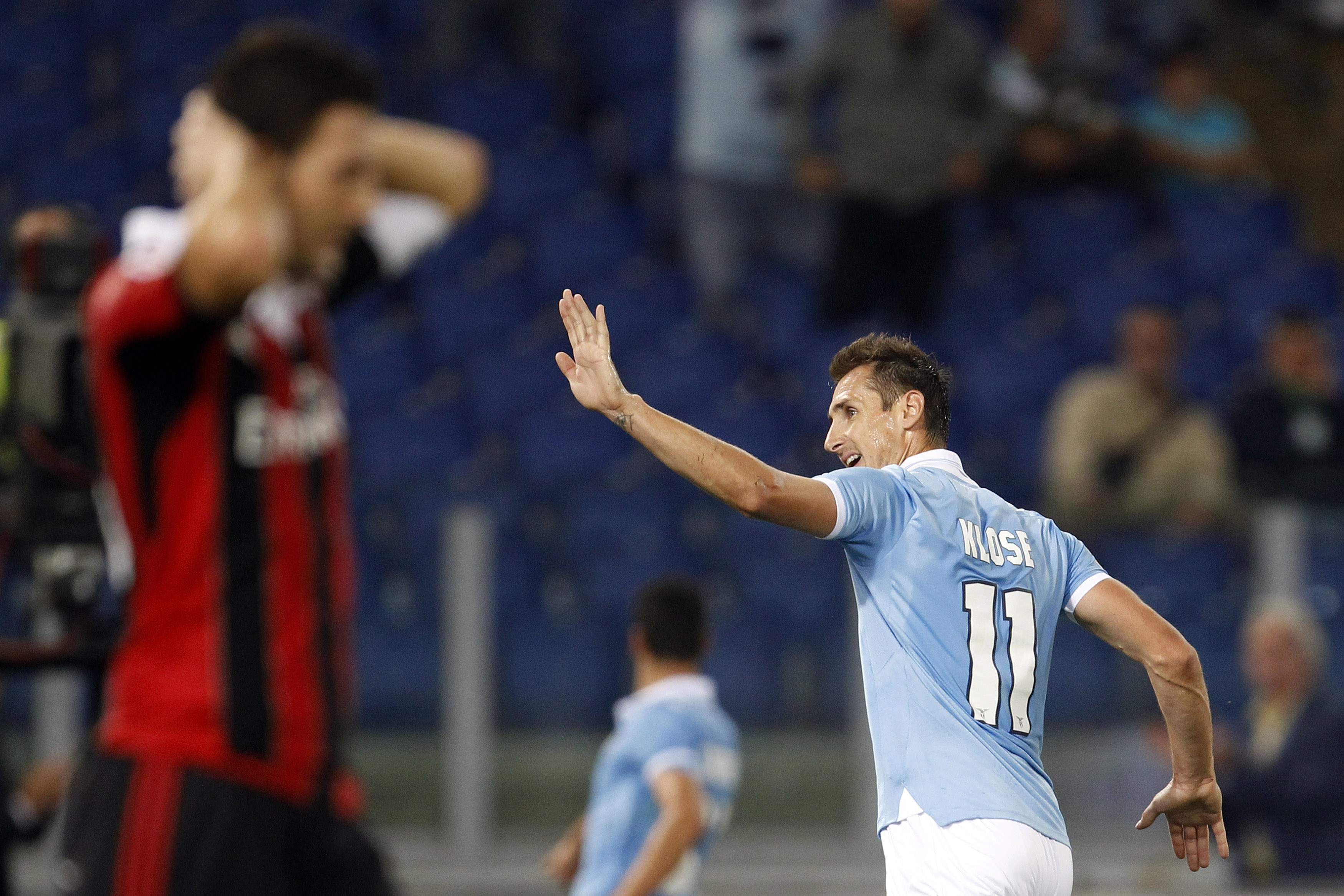 Miroslav Klose was the catalyst for Lazio once again. f489b2582