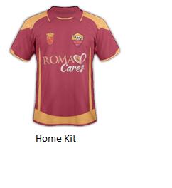 new styles 22b98 70e69 As Roma New Kit Sponsor Quest