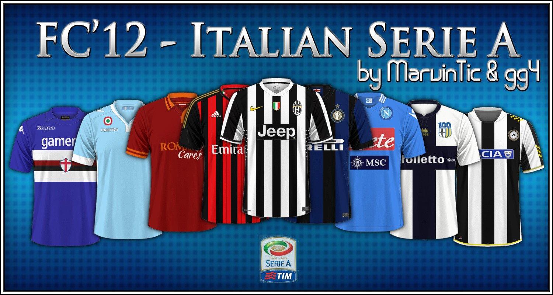 Italian Serie A kits 2013 14  699c4c0ca