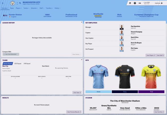 pr manchester city kits 2019 20