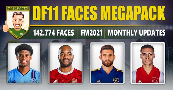 DF11 Facepack