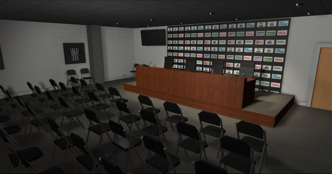 press conference background 4