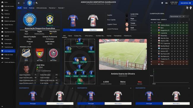 Associação Desportiva Guarulhos Perfil