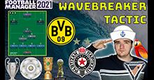 QUADRUPLE WINNING TACTIC!!!   The WaveBreaker (4-3-3)