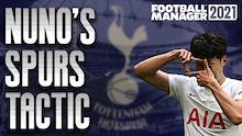 Recreating Nuno's Spurs 4-3-3   Best Premier League Defence
