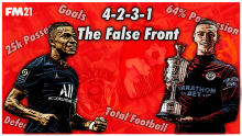 The Ultimate 4-2-3-1 Possession Tactic. The false front.