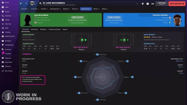 player comparison graph