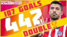 Dominant but Patient 4-4-2 | 107 League Goals FM22
