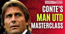 Antonio Conte - Man Utd NEED Conte - Tactical Analysis FM22