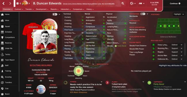 Duncan Edwards Overview Profile