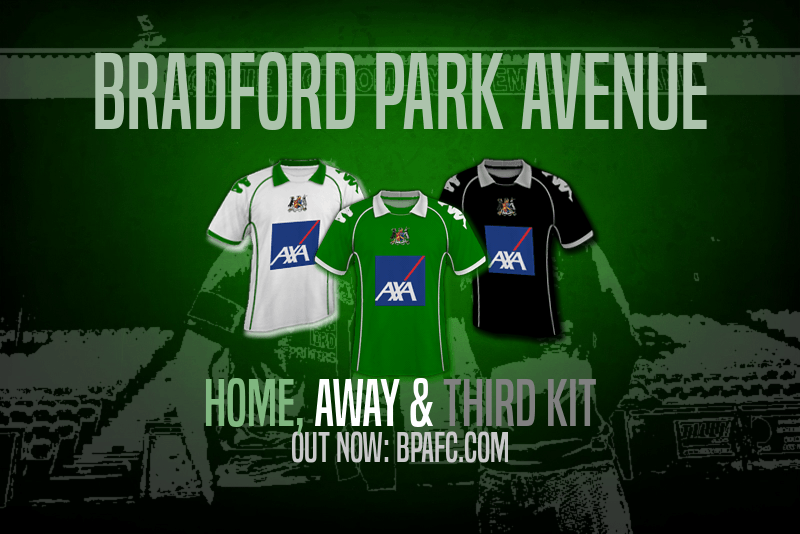 Bradford Park Avenue Have Today Unveiled Their New Kits For First Ever Season In The Reformed Barclays Premier League