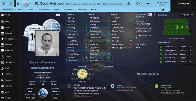 Oscar Heisserer Overview Profile