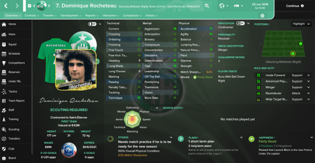 Dominique Rocheteau Overview Profile