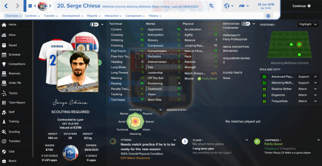 Serge Chiesa Overview Profile