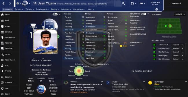 Jean Tigana Overview Profile