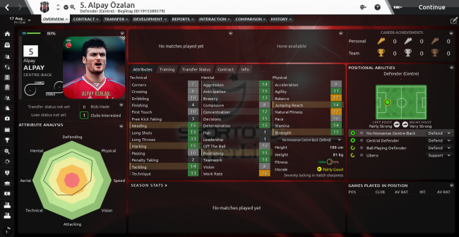 Alpay Özalan Overview Profile