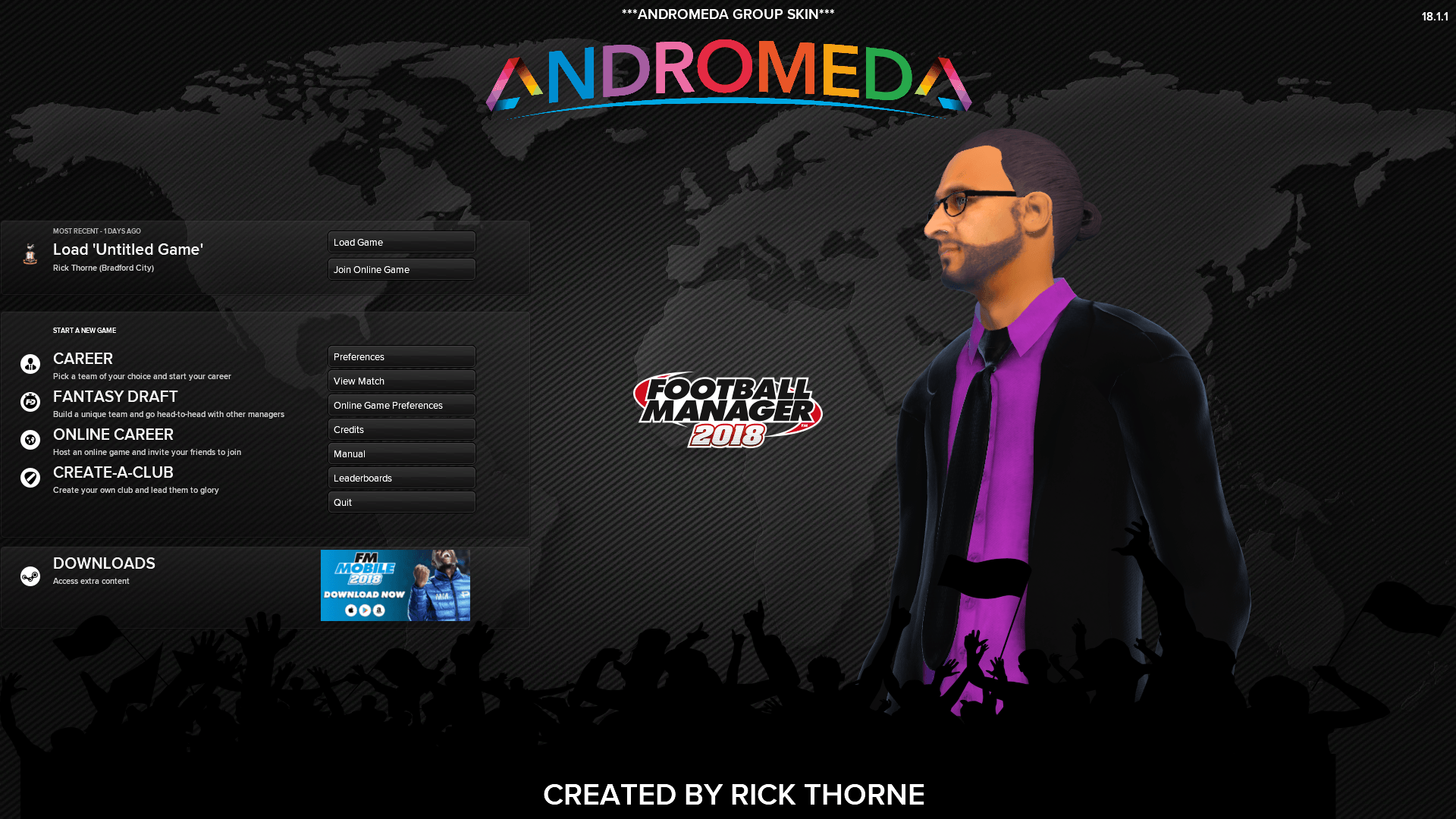 Andromeda (FM2018) DBto7