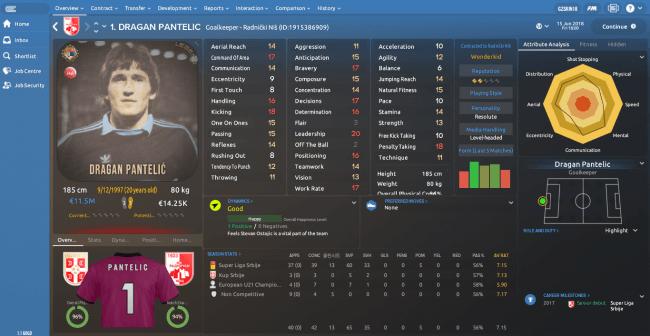 Dragan Pantelic Overview Profile