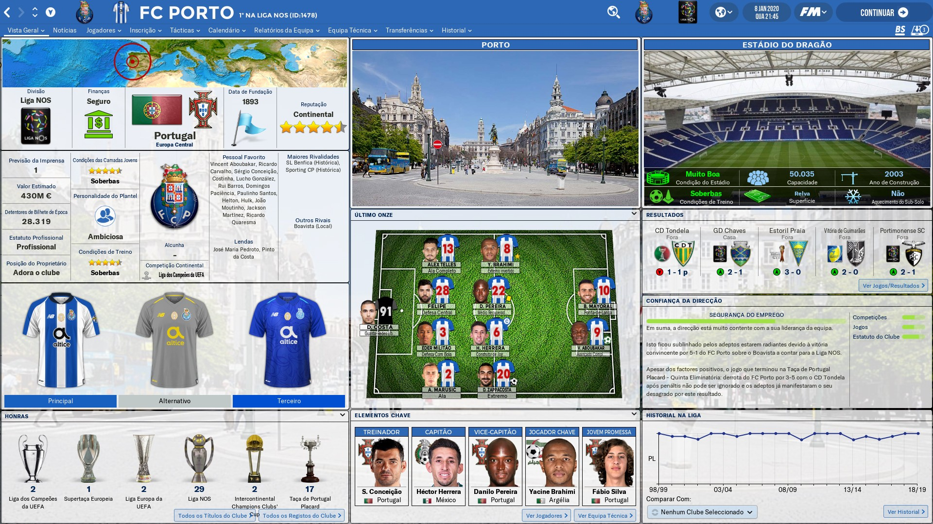 Football Manager 2019 Skins - FM 2019 FLUT skin light - Version 1.8