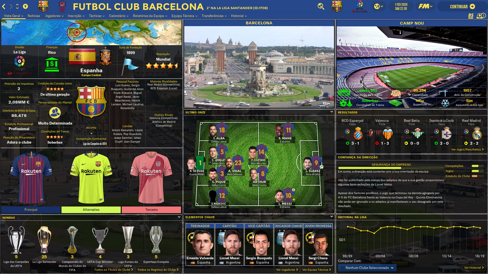 Football Manager 2019 Skins - FM 2019 FLUT skin dark - Version 1.7