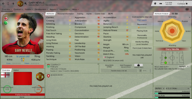 Gary Neville Overview Profile 2