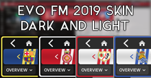 EVO FM2019 SKIN DARK/LIGHT