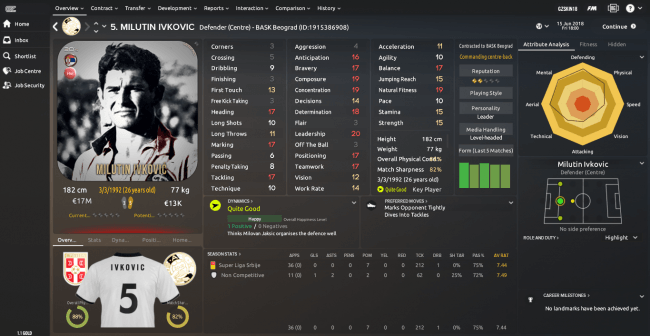 Milutin Ivkovic Overview Profile