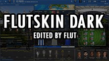 FM 2019 FLUT skin dark - Version 1.4