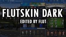 FM 2019 FLUT skin dark - Version 1.5