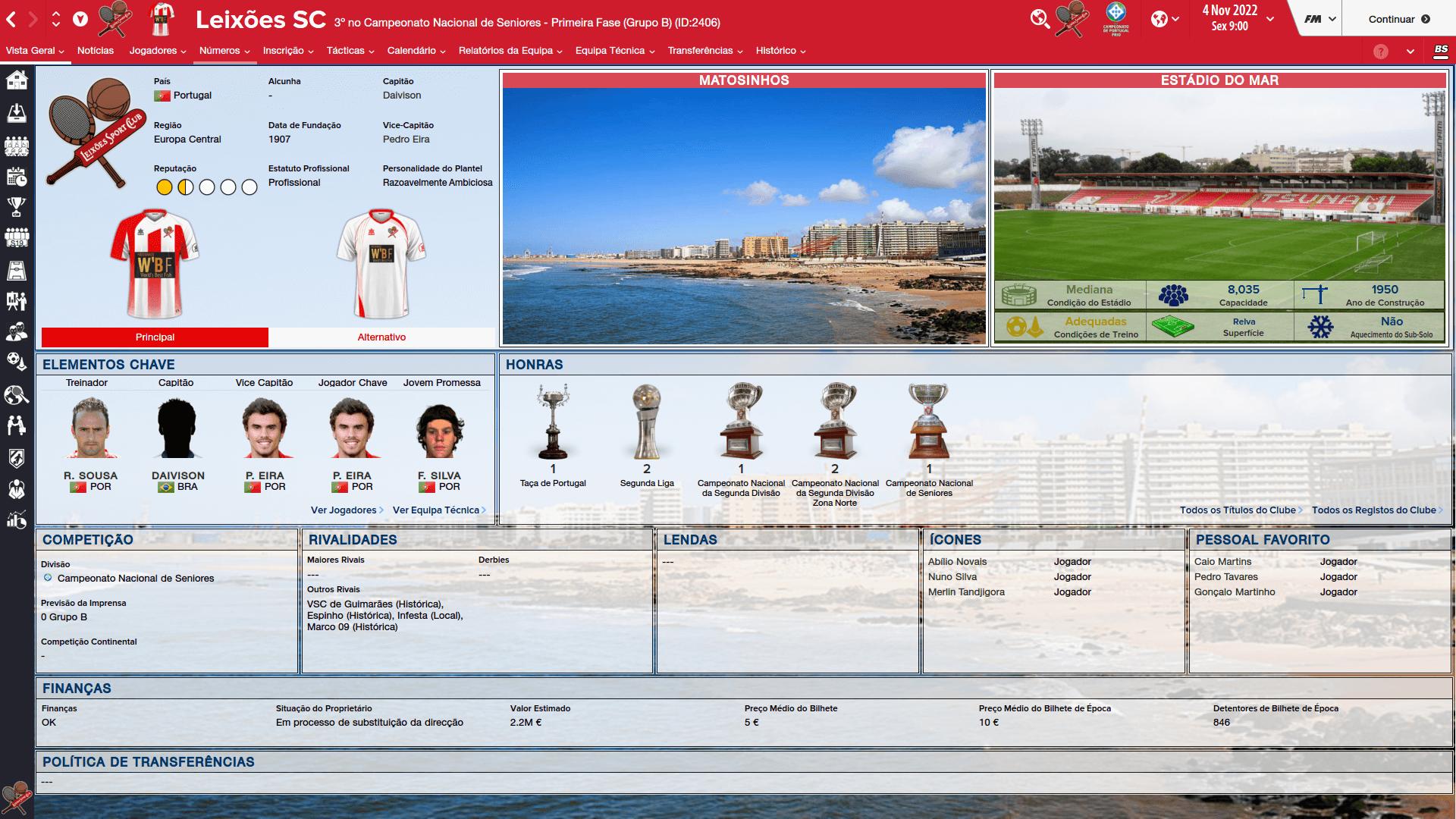 Cidades e Estádios Portugueses [FM2016] WaCH4