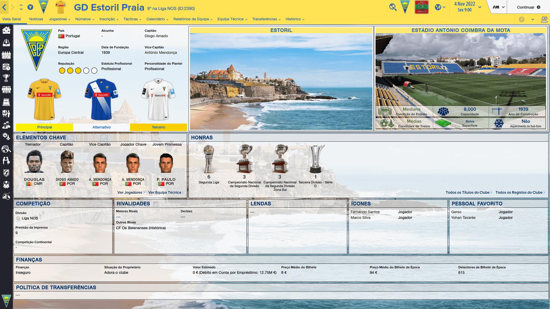 Cidades e Estádios Portugueses [FM2016] WaZZs