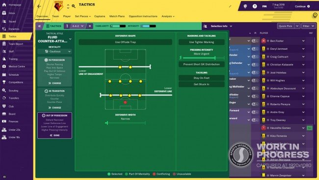 fm19 revamped tactics module out of possession 2