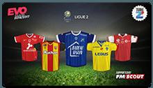 Evo Kits 2016/2017 - French Ligue 2