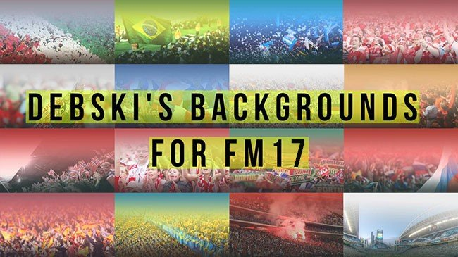 FM 2017 Misc Graphics - Debski's Backgrounds for FM17