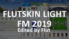 FM 2018 FLUT skin light - Version 1.0