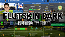 FM 2019 FLUT skin dark - Version 1.3